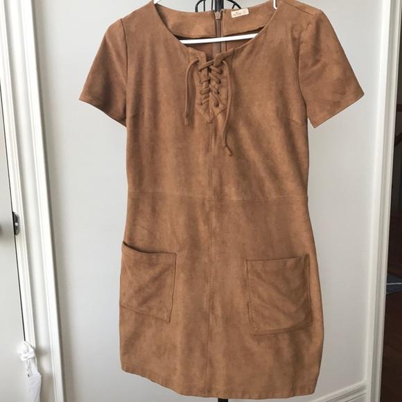 Hollister Suede Dress